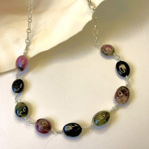 Oval Tourmaline and HIPSTER Chain HIP and BELLY Chain