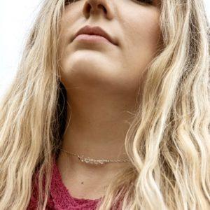 Bold and Beautiful Swarovski Rounds STUNNING Backdrop Necklace